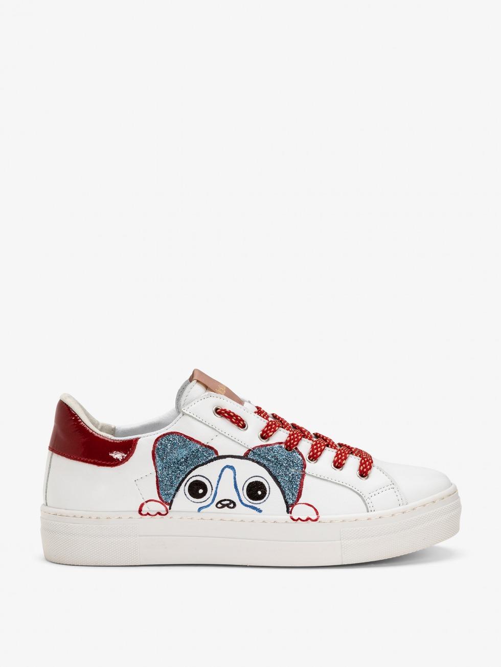Sneakers Martini Patent Sipario - Dog