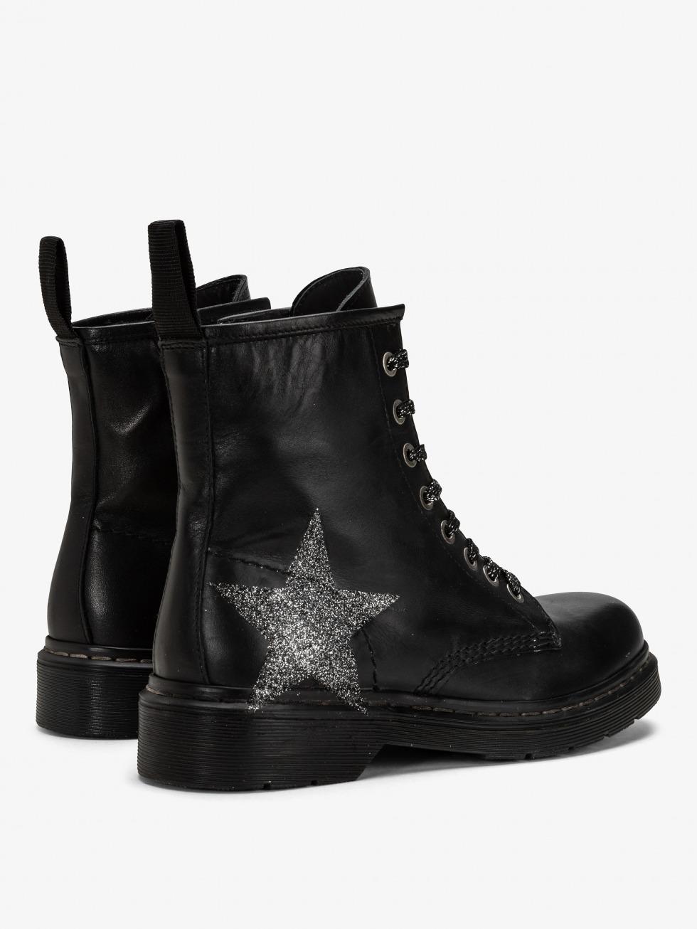 Boots Bloody Mary Nero - Stella Stardust Glitter
