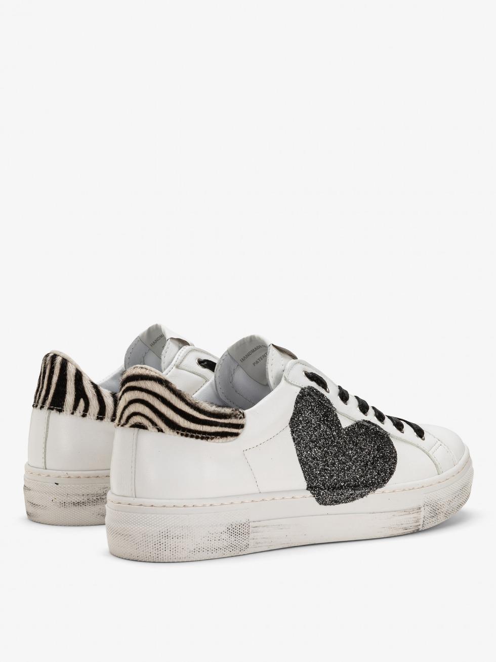 Sneakers Martini Zebrina - Cuore