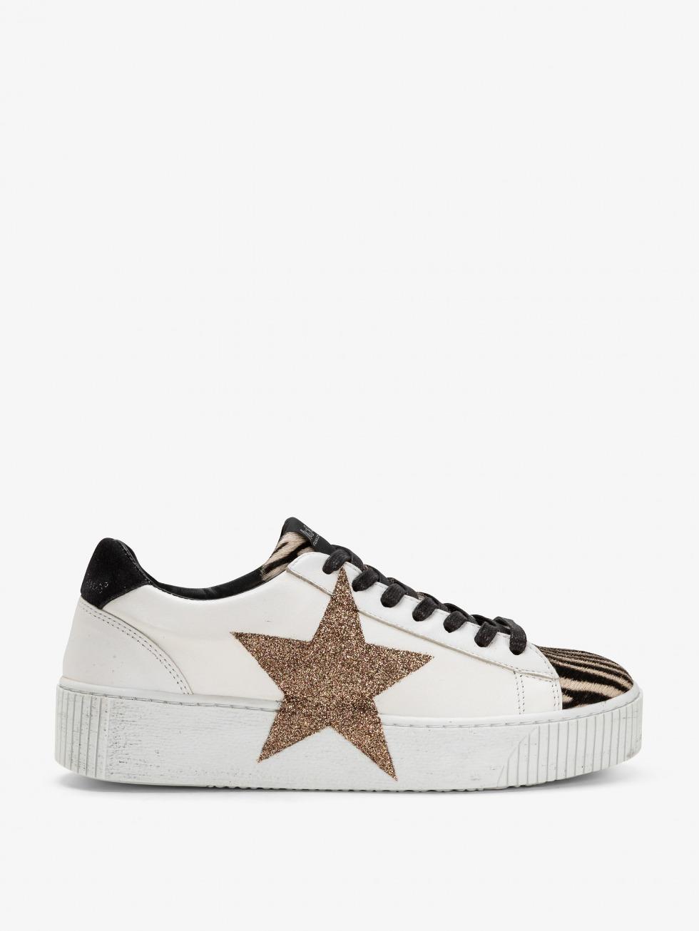 Sneakers glitterate - Cosmopolitan Mini Zebrina