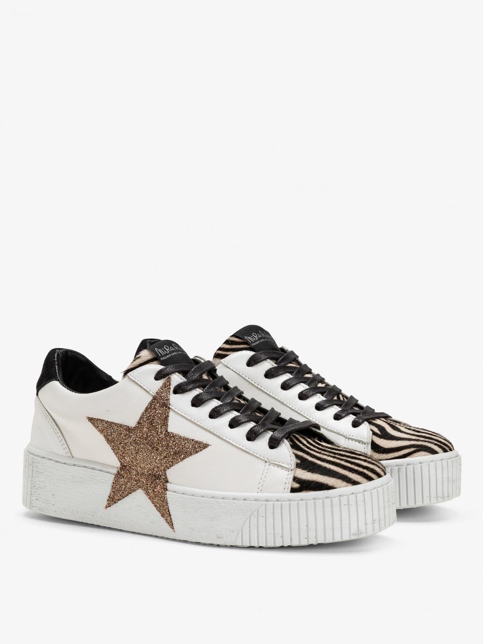 Sneakers con stella laterale - Cosmopolitan