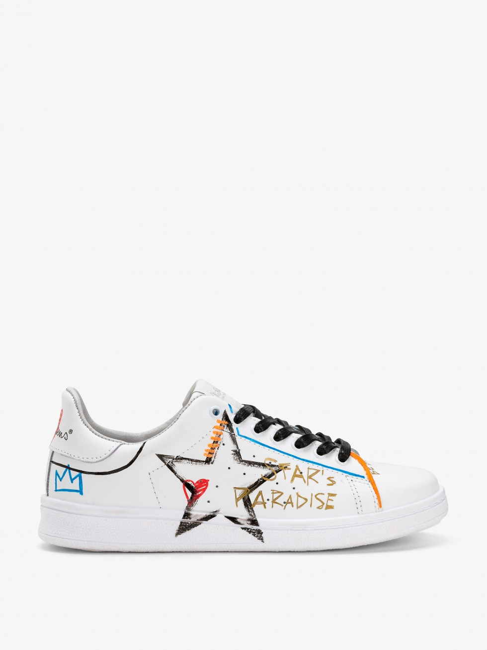 Daiquiri Sneakers - Heart's Rainbow