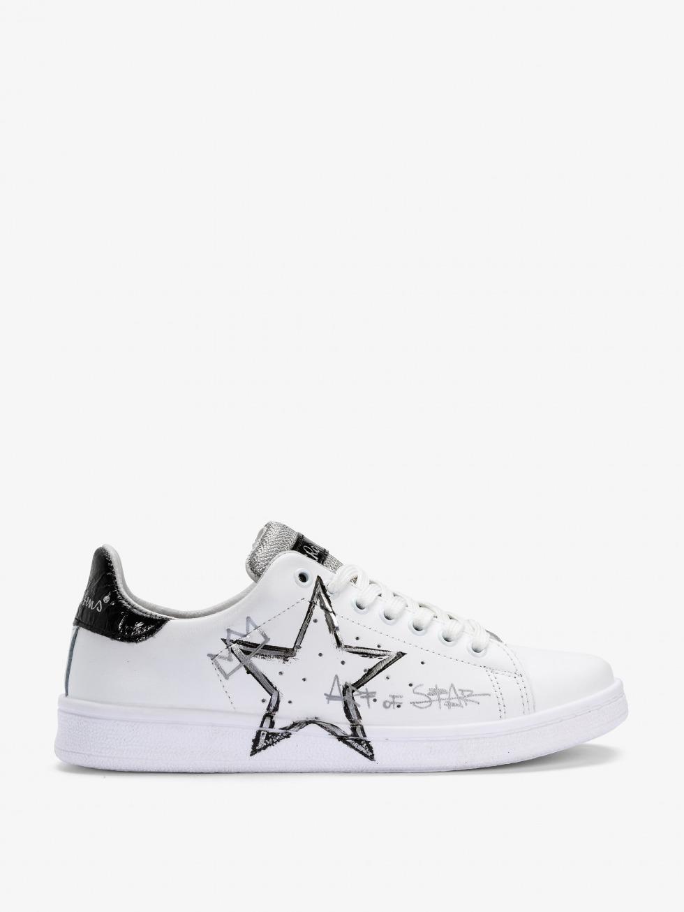Sneakers da donna con stella argentata - Daiquiri Space Iron