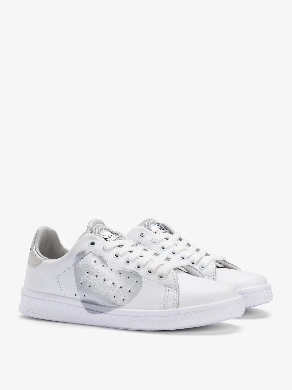 Daiquiri Sneakers - Space Silver Heart