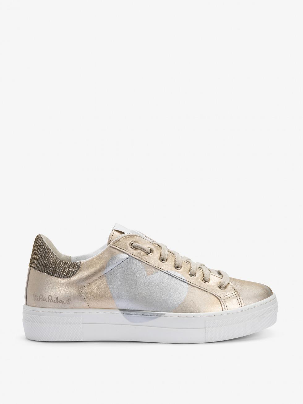 Sneakers Martini Shine Gold - Cuore