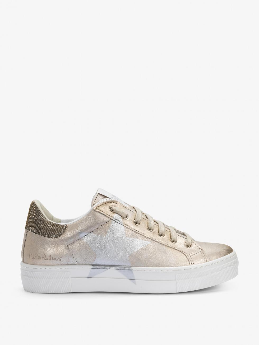 Sneakers Martini Shine Gold - Stella