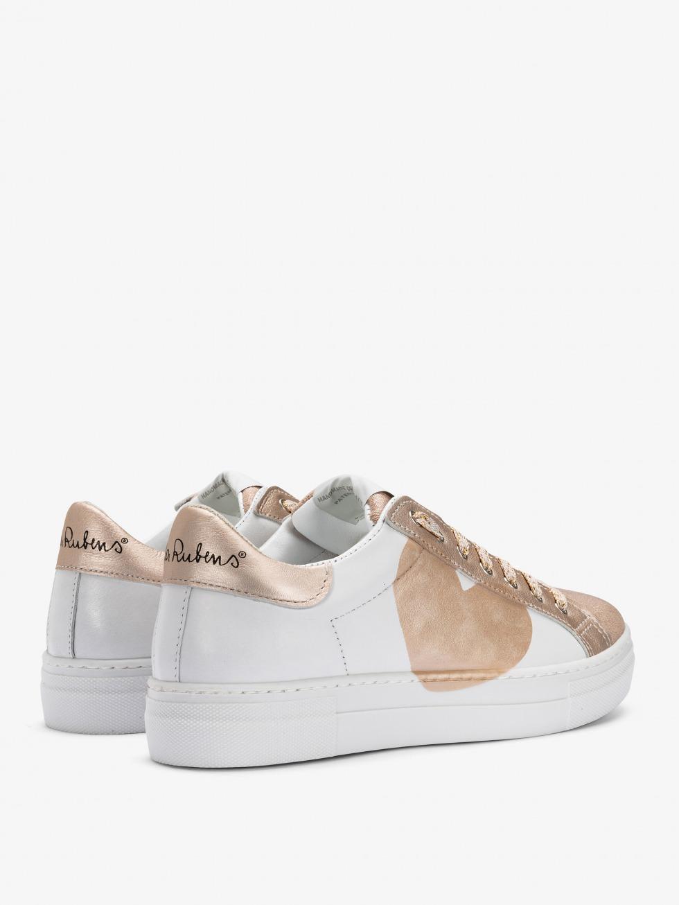 Sneakers Martini Luxury Avorio - Cuore