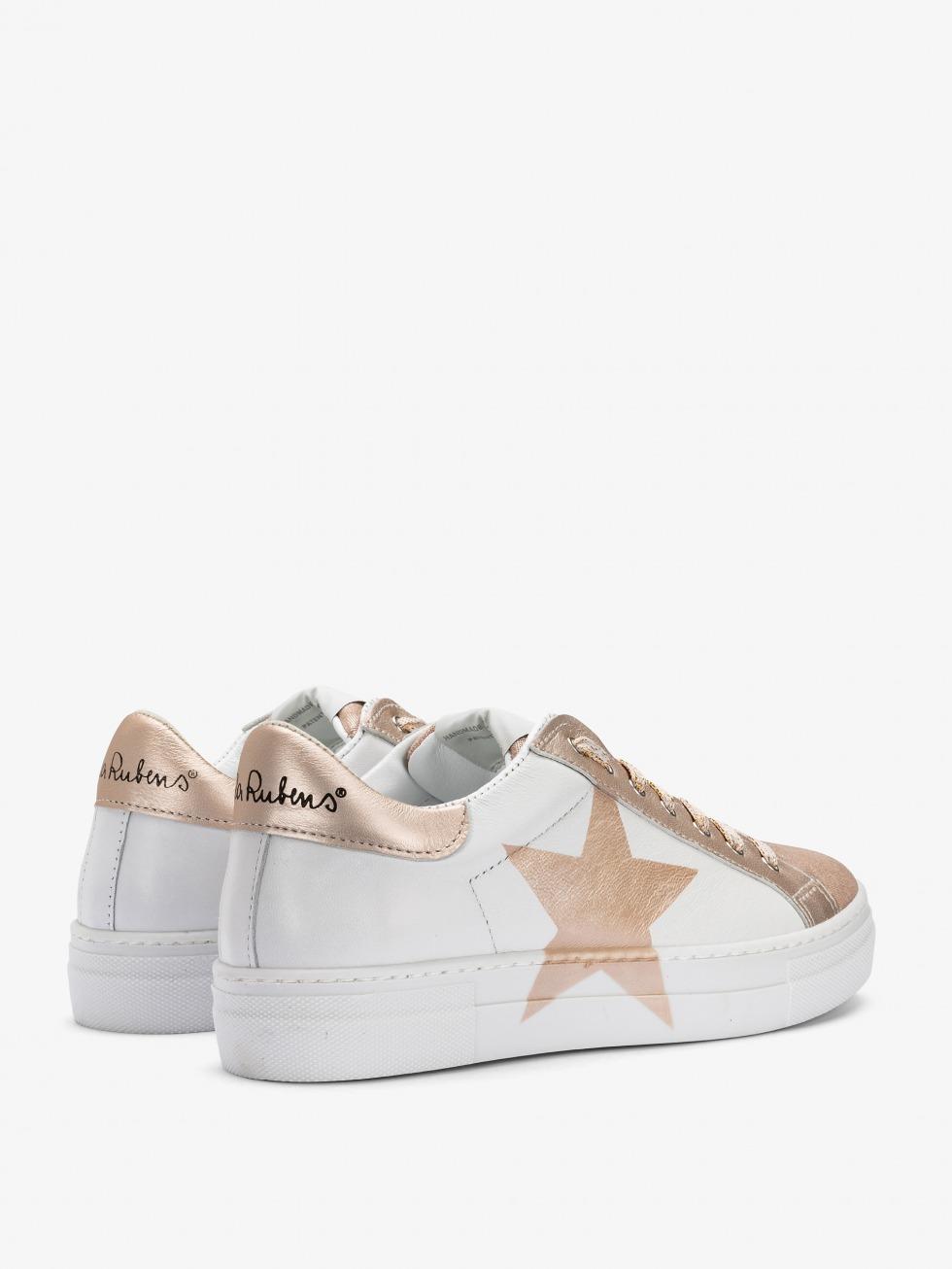 Sneakers Martini Luxury Avorio - Stella