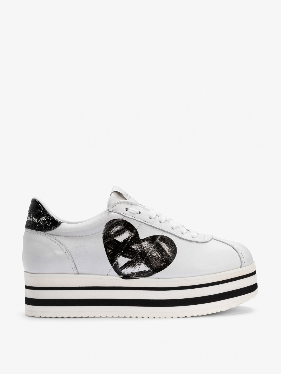 Platform White Lady - Cuore Dark