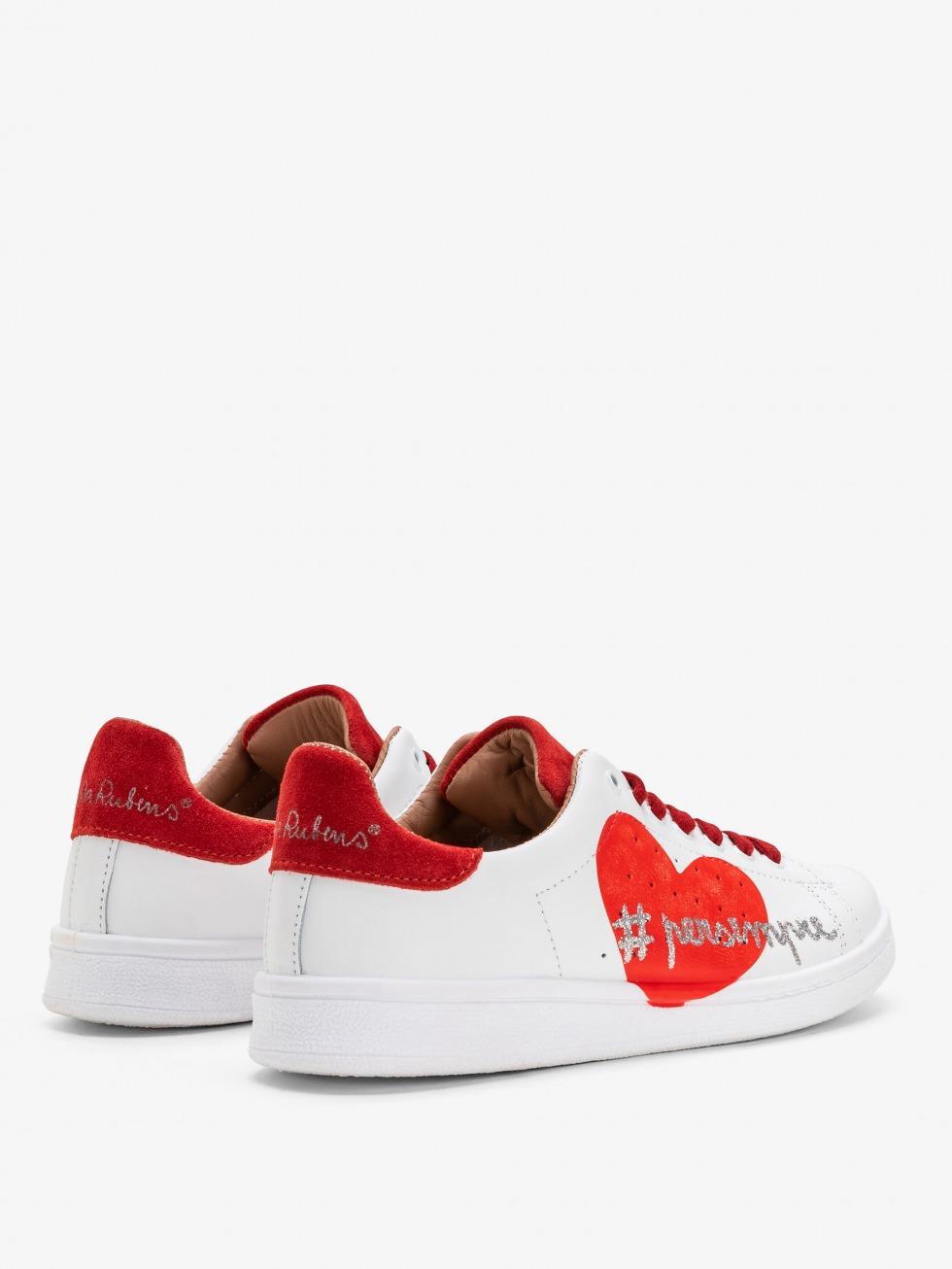 Sneakers da donna bianca - modello NiRa Rubens