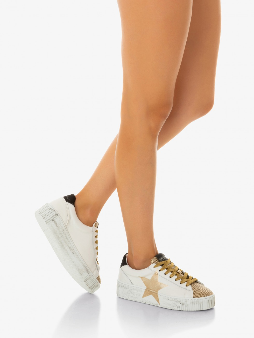 Sneakers Cosmopolitan - Stella Satin Oro