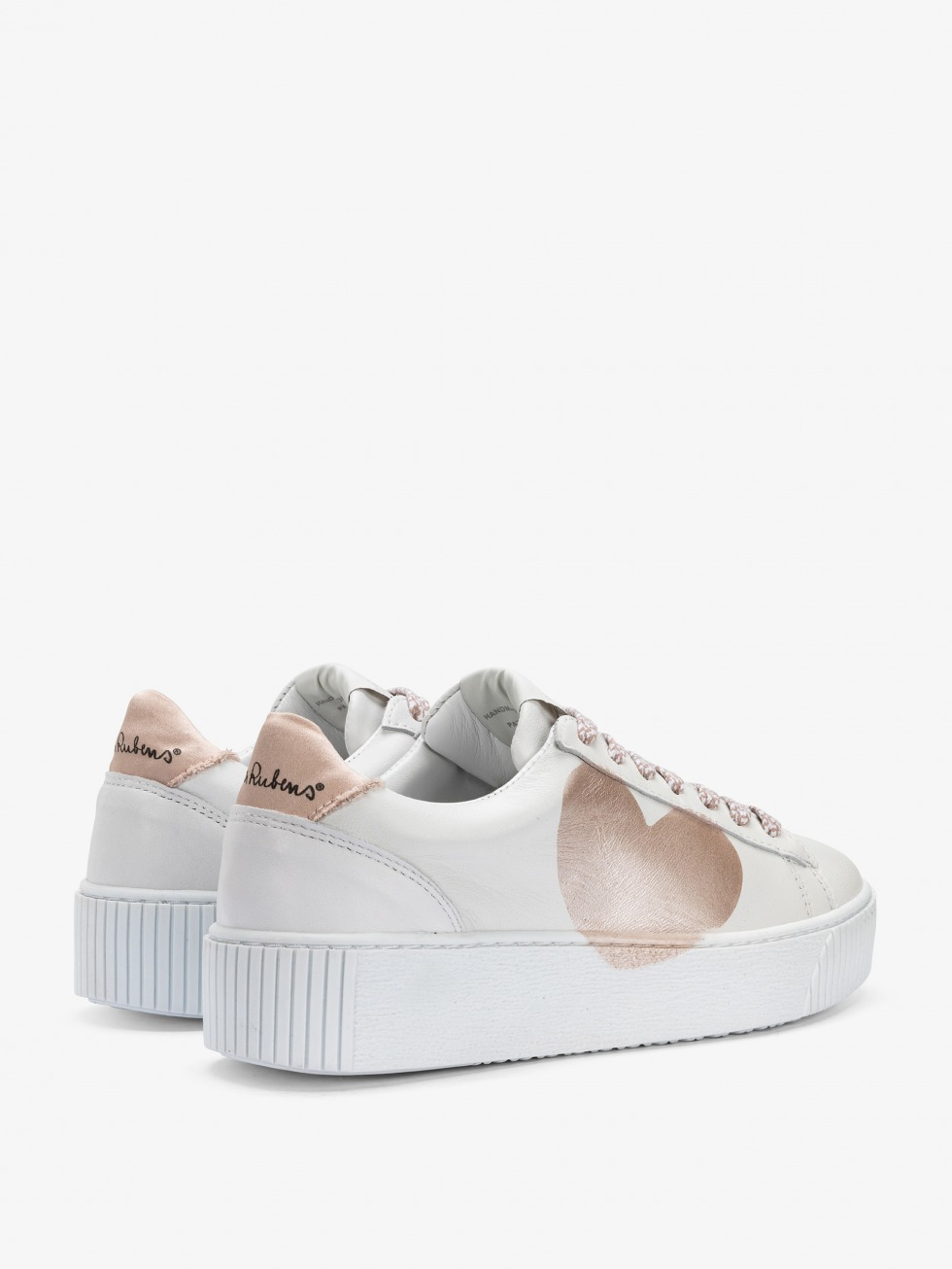 Sneakers Cosmopolitan - Cuore Natural Satin Cipria