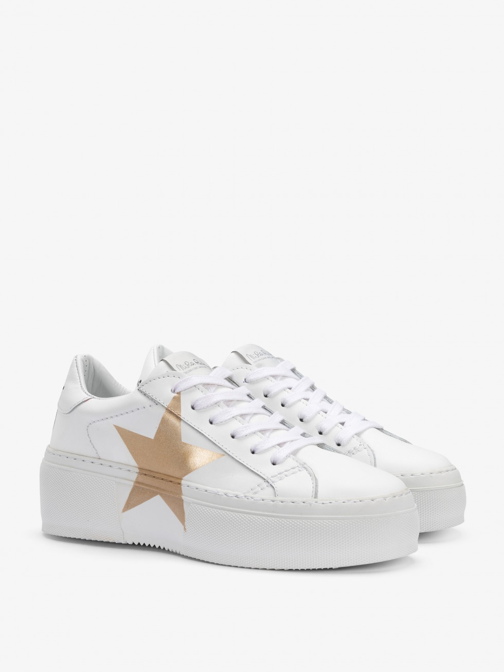 Mimosa White Sneakers - Star