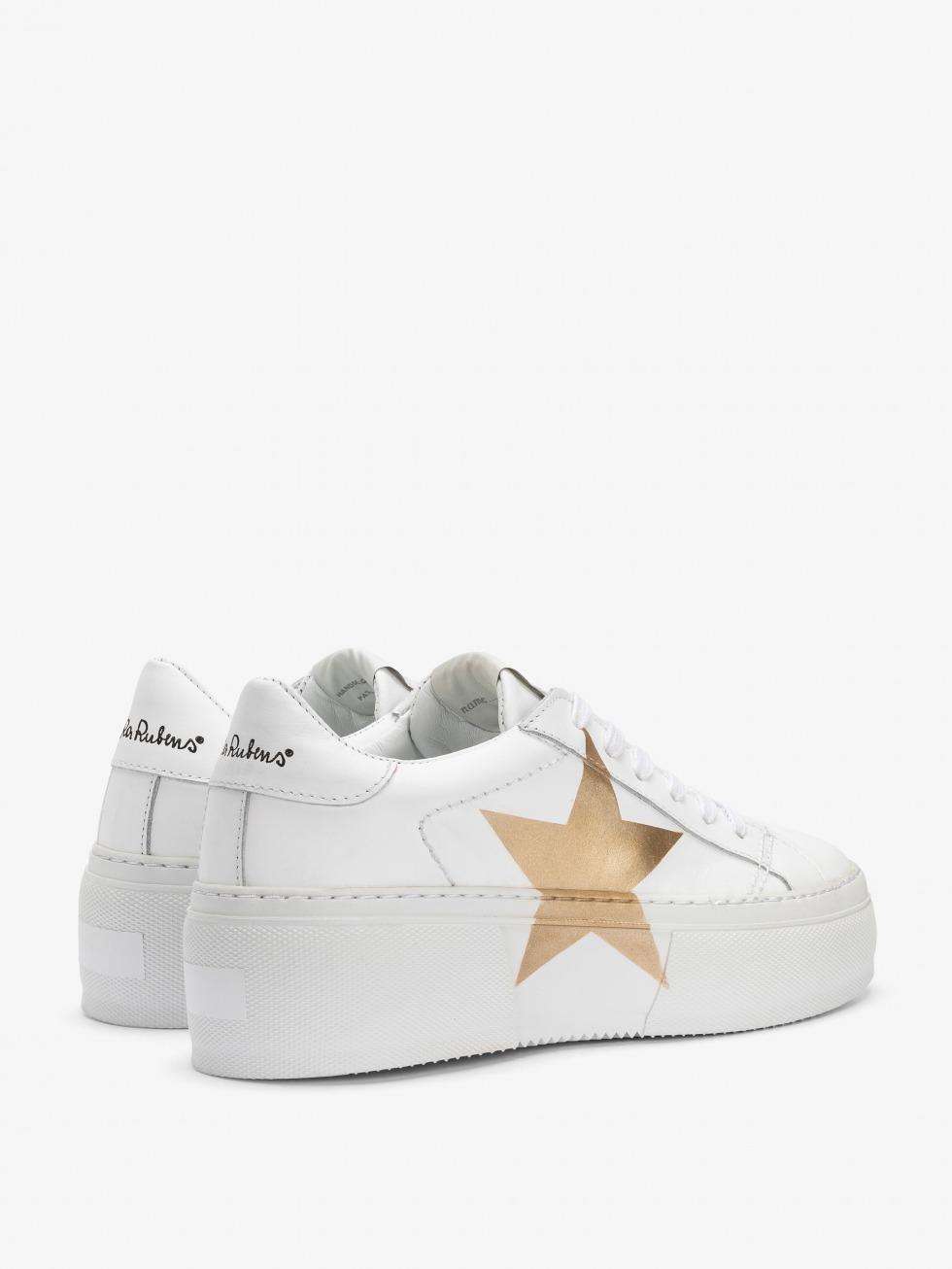 Platform Sneakers Mimosa White - Stella