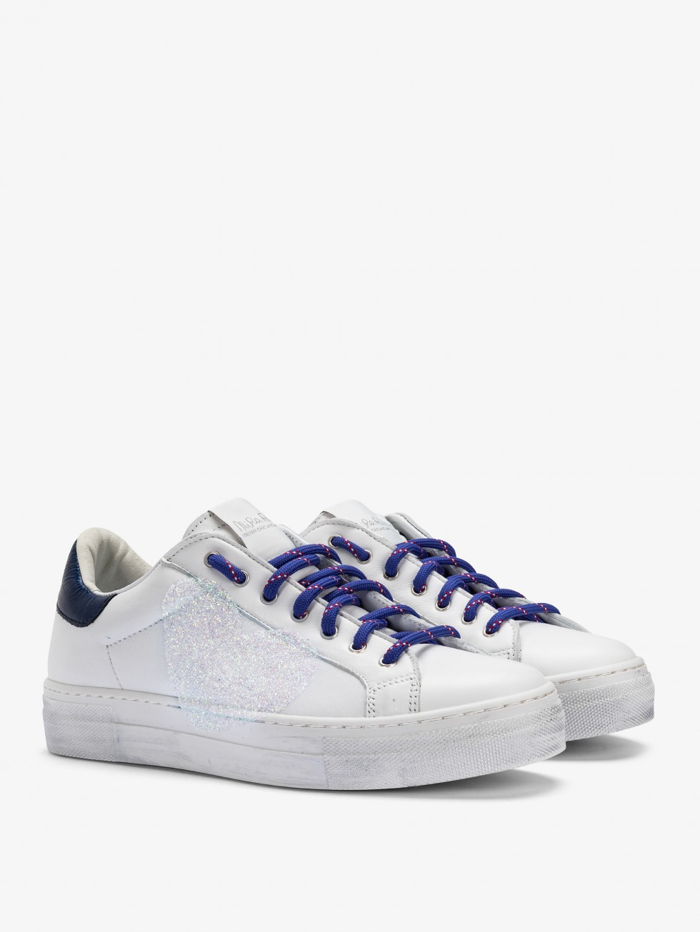 Sneakers Martini Vintage Blue Lips - Cuore
