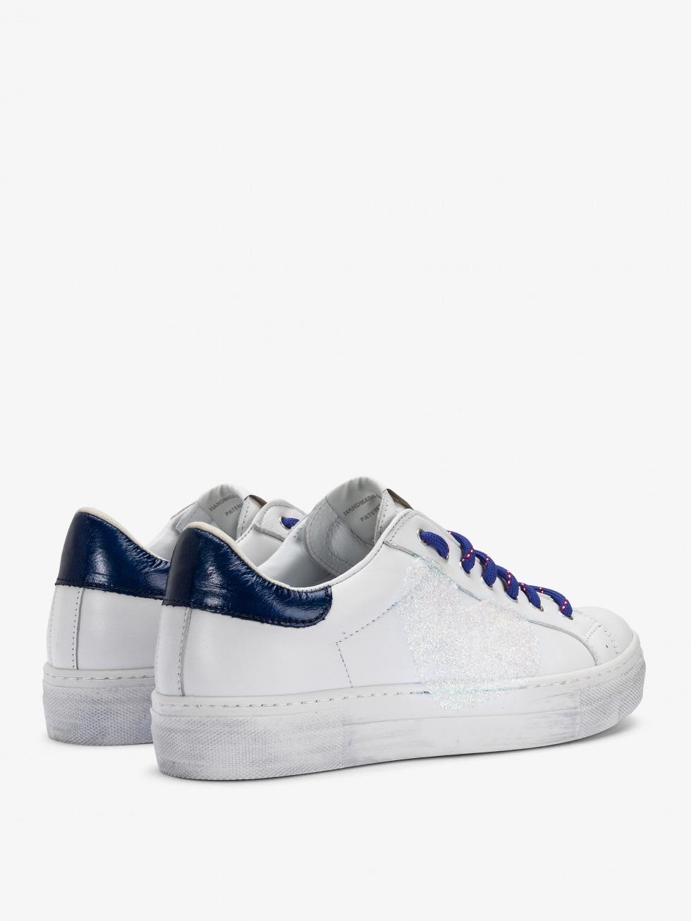 Martini Sneakers Vintage Blue Lips - Heart