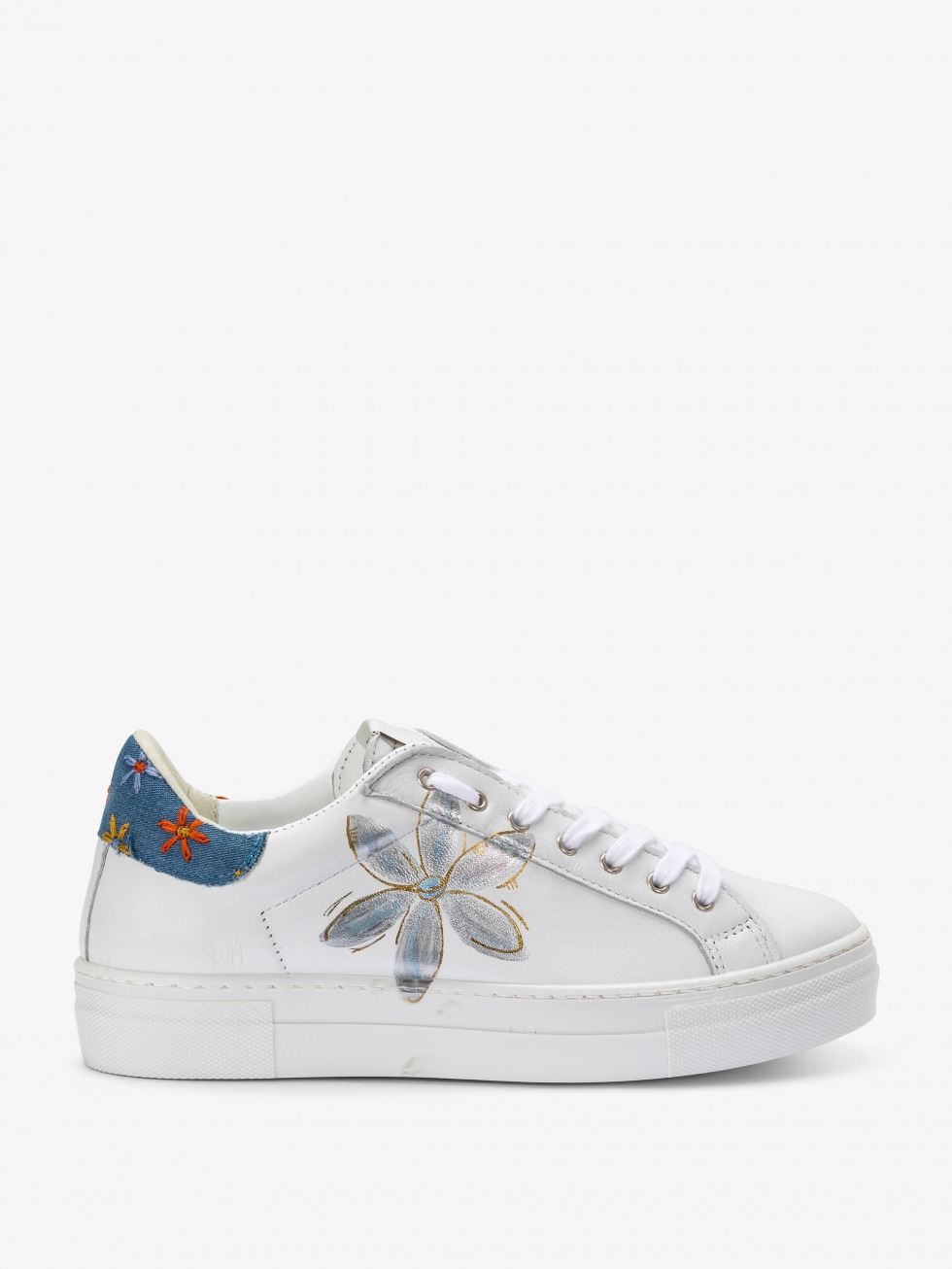 Sneakers Martini Jeans - Flowers