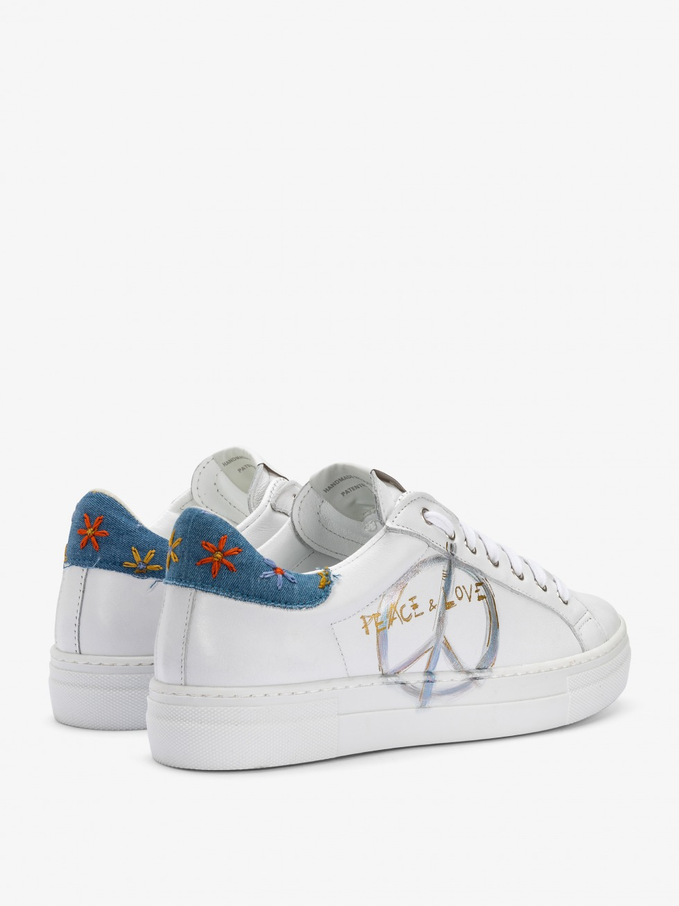 Sneakers Peace and Love - Boho Style