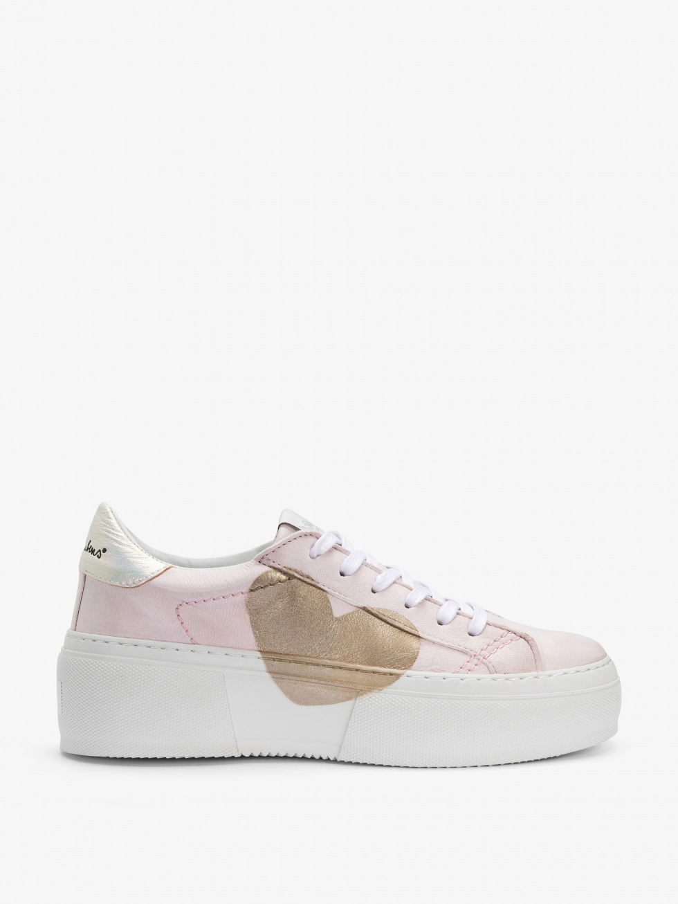 Mimosa White Sneakers Dolly - Heart