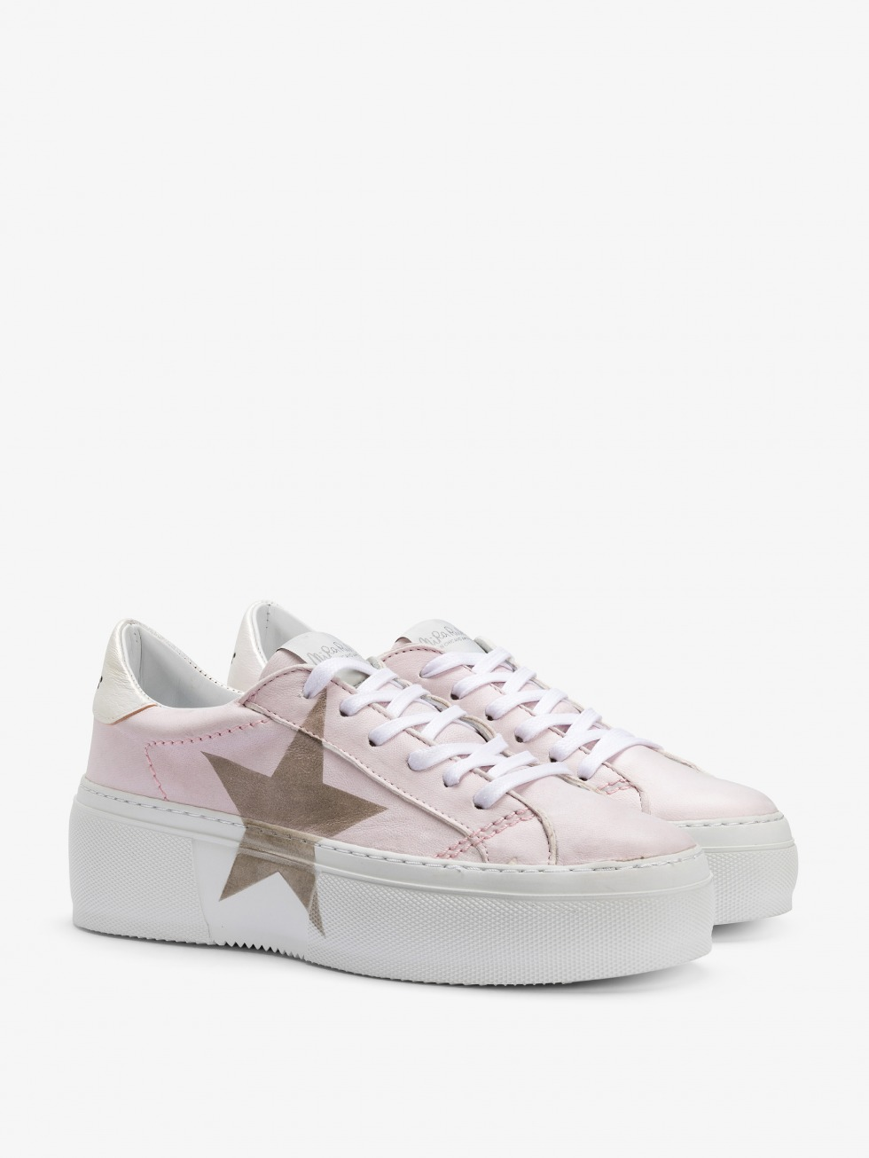 Mimosa White Sneakers Dolly - Star