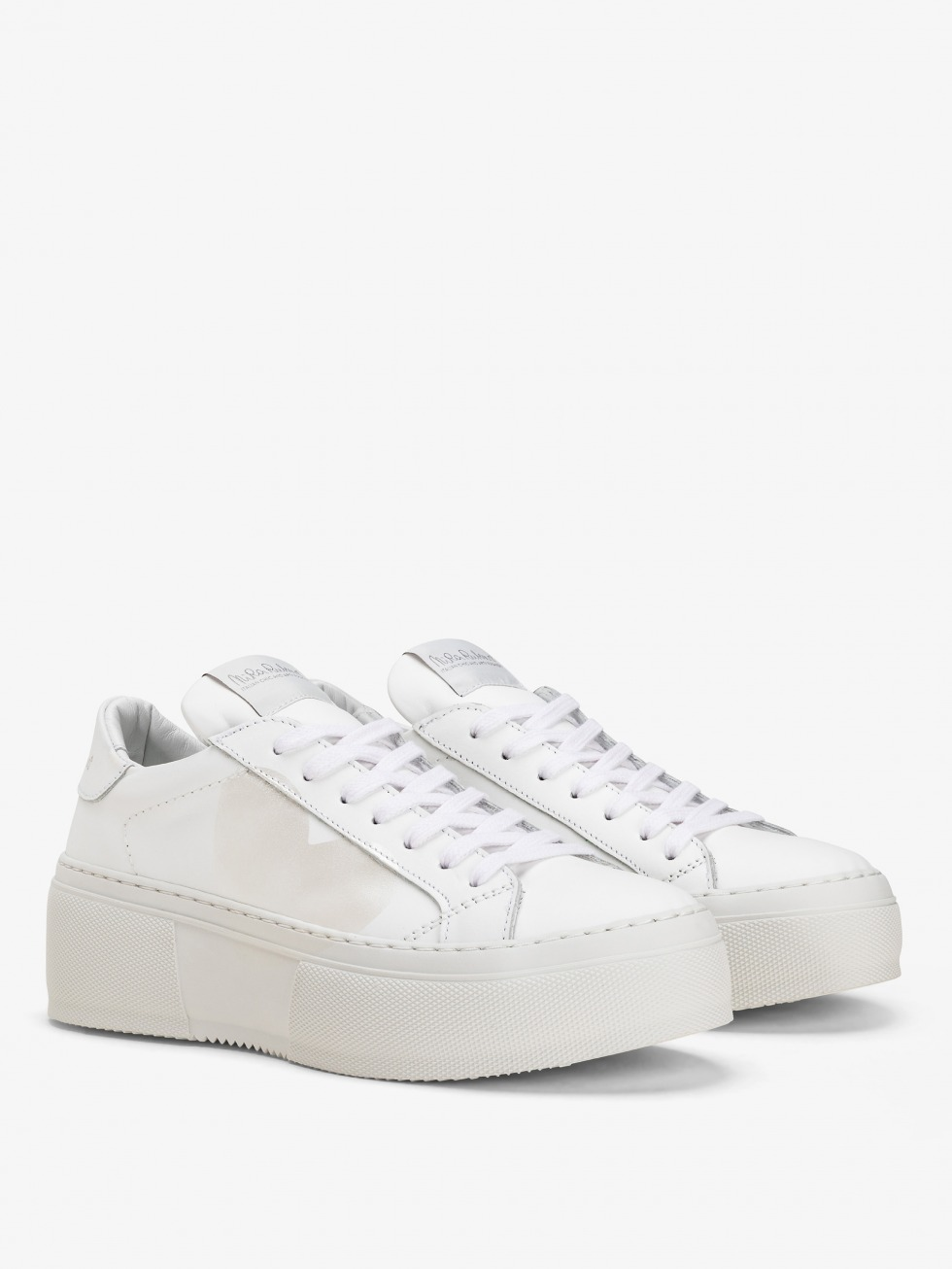 Platform Sneakers Mimosa - Cuore Madreperla