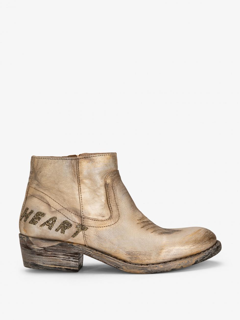 Boots Mojito - Cuore Cometa Glitter