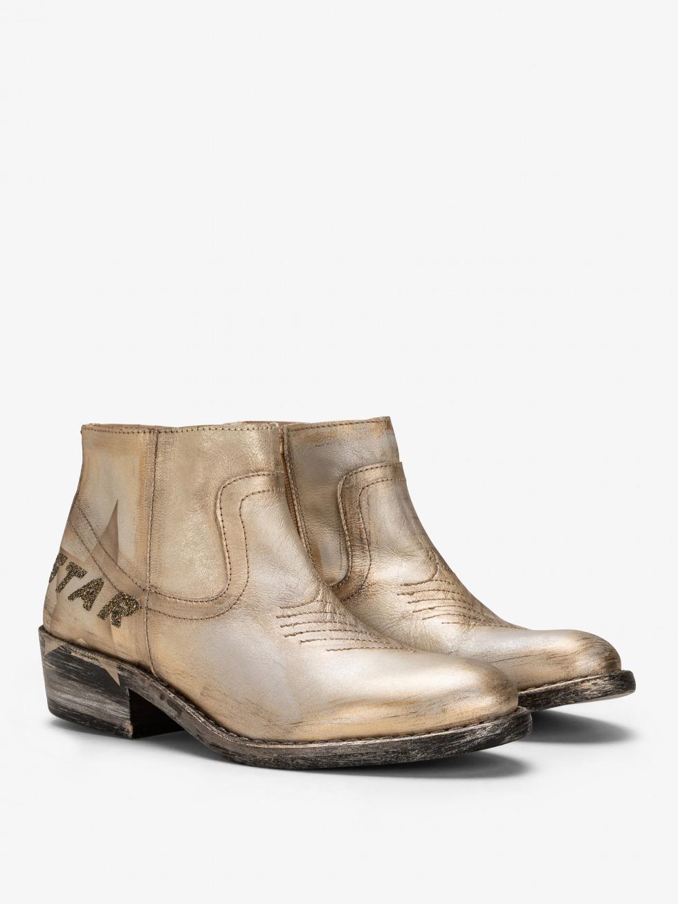 Mojito Boots - Glitter Comet Star