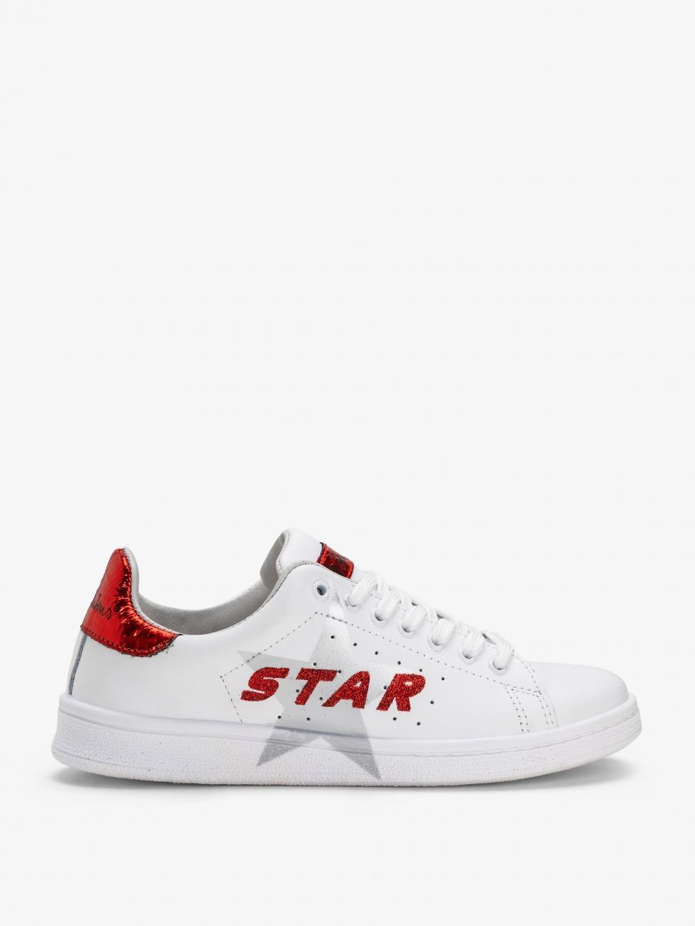Sneakers Daiquiri - StellaSpace Red Glitter