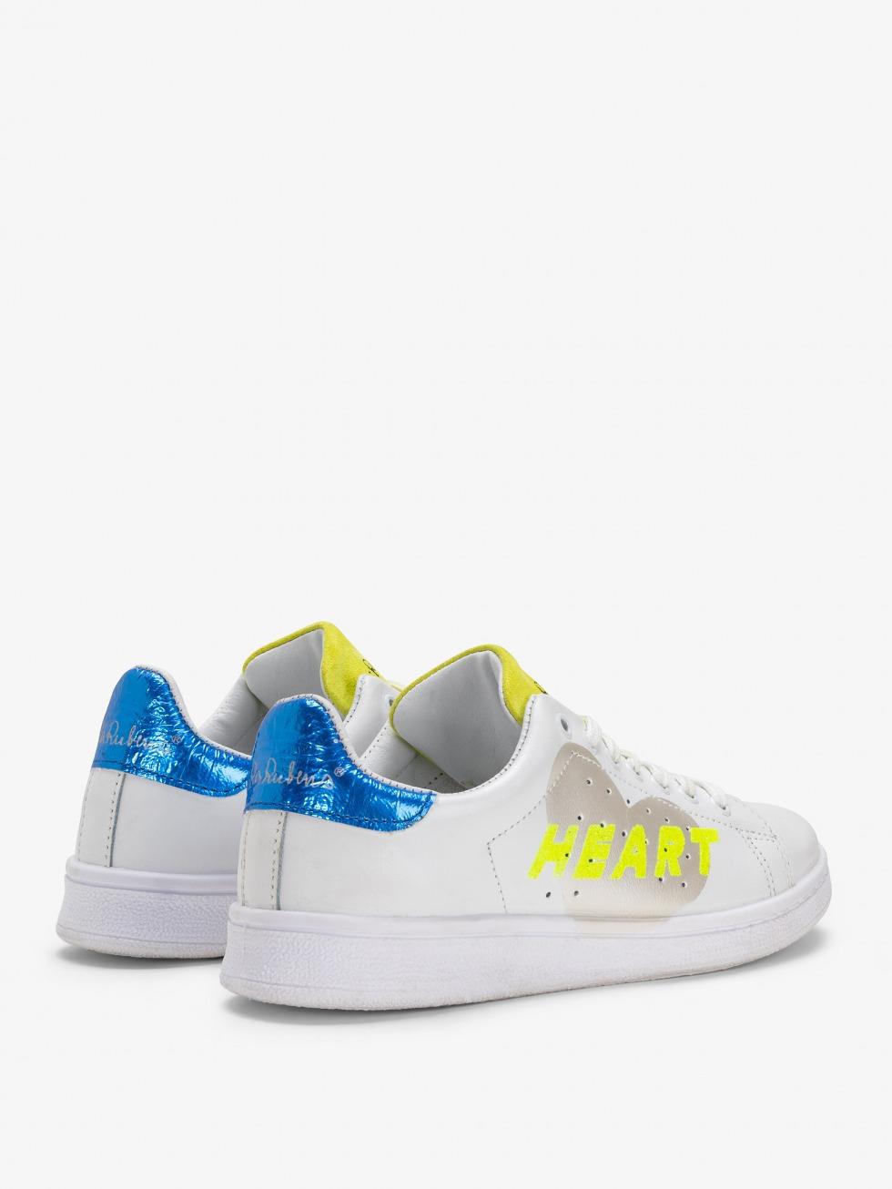 Daiquiri Sneakers - Space Electric Glitter Heart