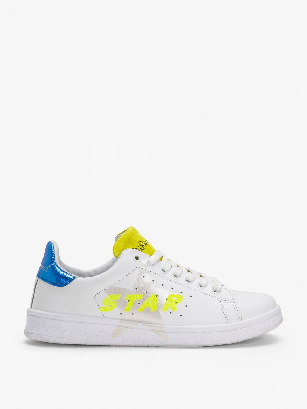 Daiquiri Sneakers - Space Electric Glitter Star