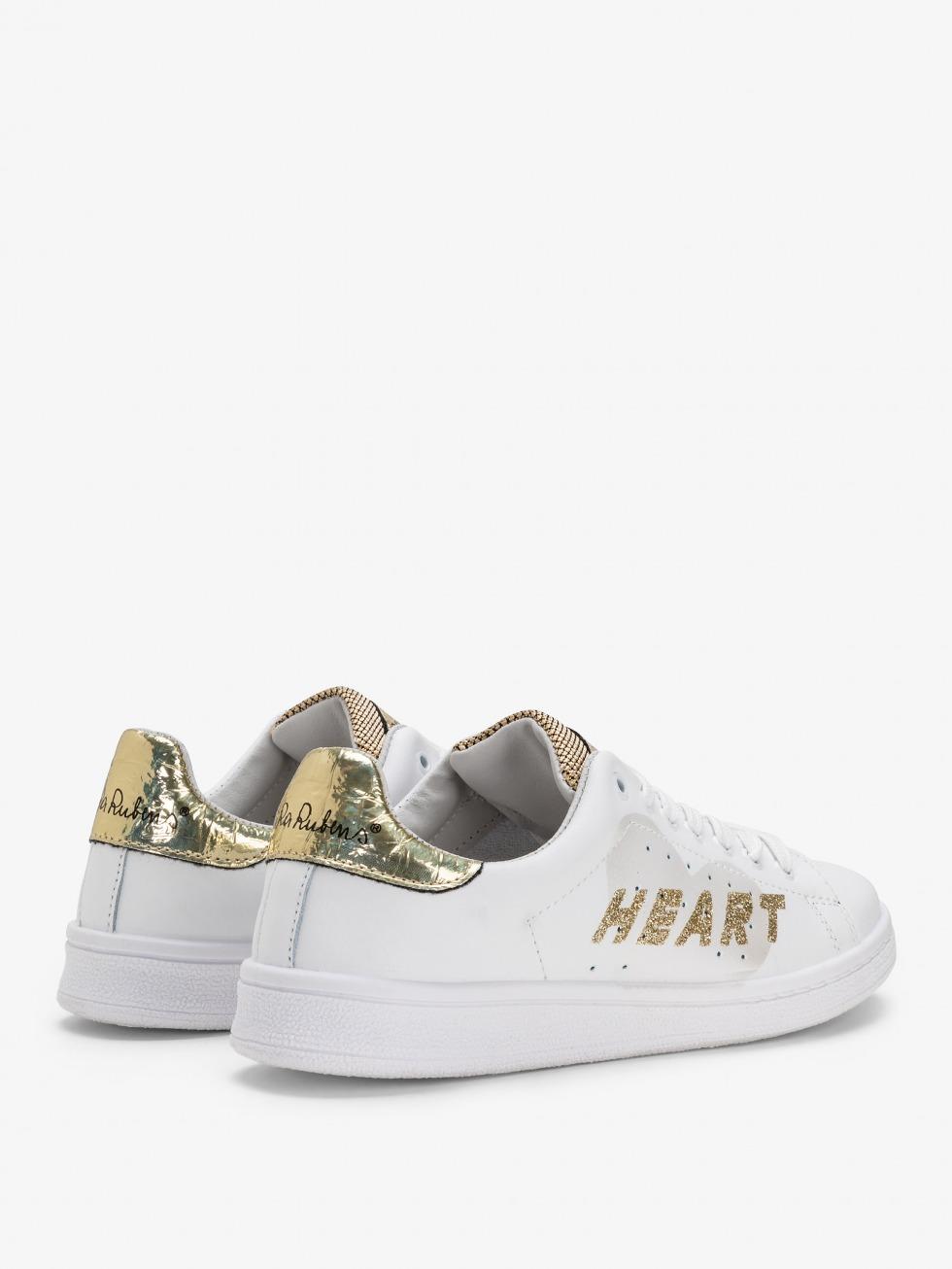 Sneakers Daiquiri - Cuore Space Gold Glitter