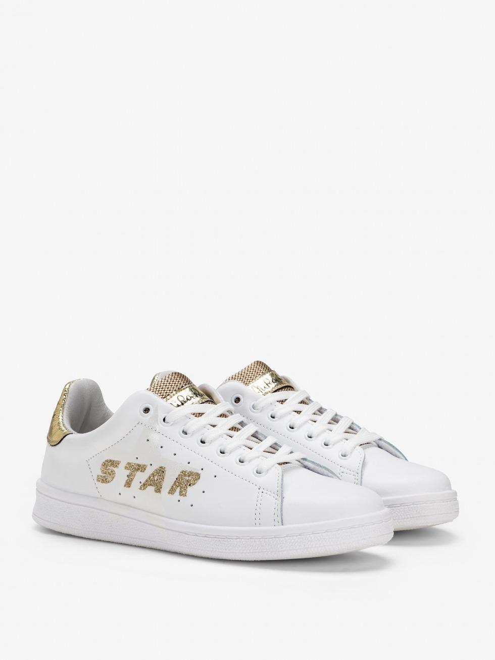 Sneakers Daiquiri - Stella Space Gold Glitter