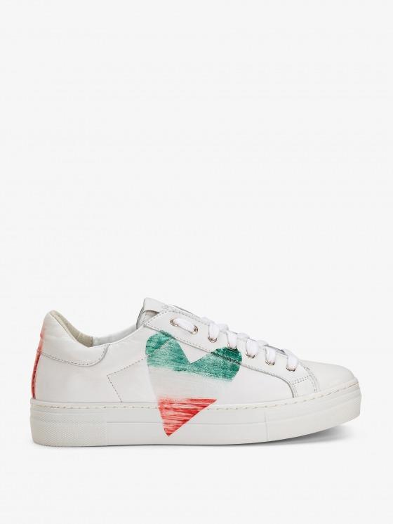 Scarpe sneakers con cuore - Nira Rubens 76309c5ca74