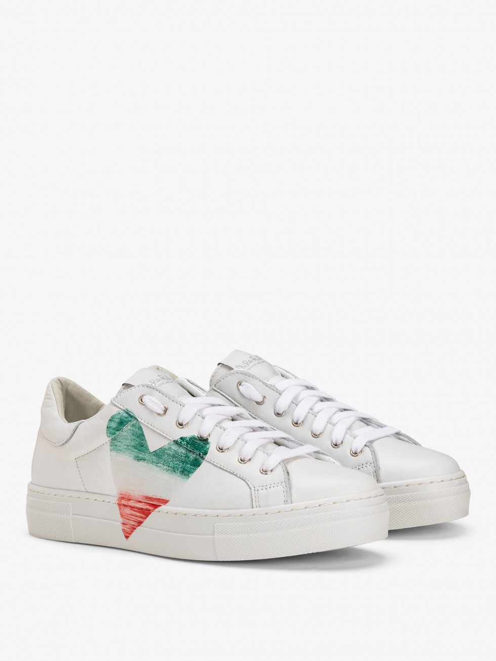 Martini Sneakers - Flag Italy Heart