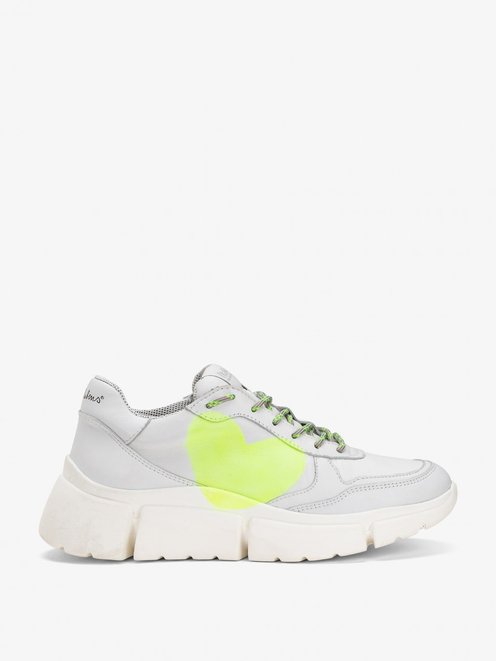 Stinger Chunky Sneakers - Yellow Fluo Star