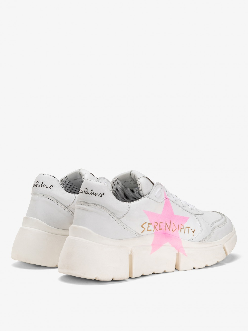 Stinger Chunky Sneakers - Fuchsia Fluo Star