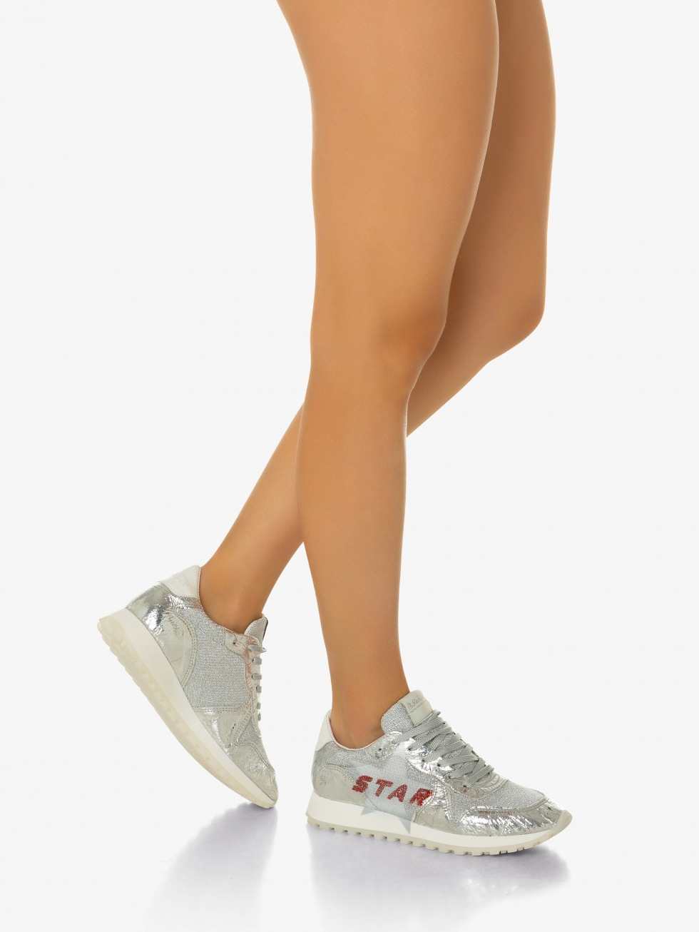 Running Bellini -  Shuttle Silver Glitter Star