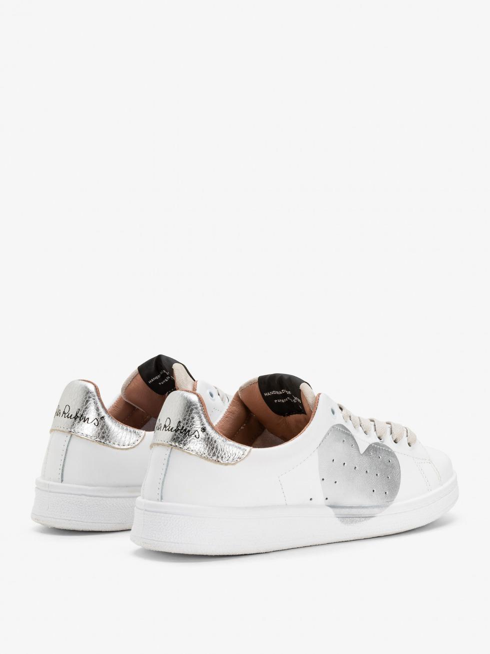 Daiquiri Sneakers - Moon Silver Heart