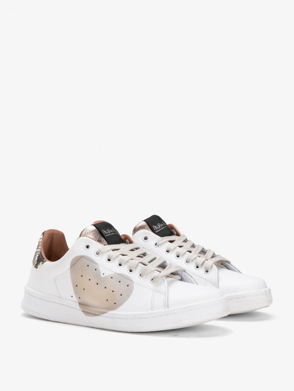 Daiquiri Python Sneakers - Heart