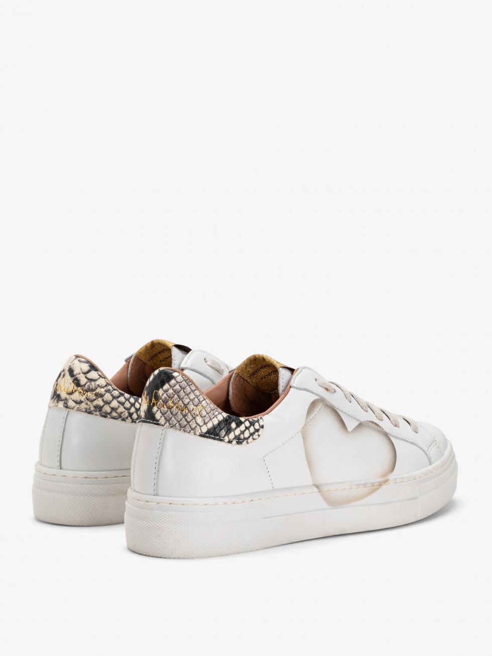 Martini Python Sneakers - Heart