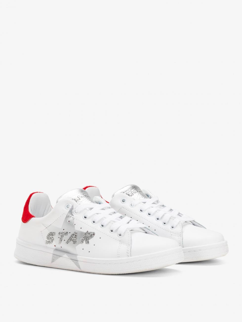 Daiquiri Race Sneakers - Silver Star Race