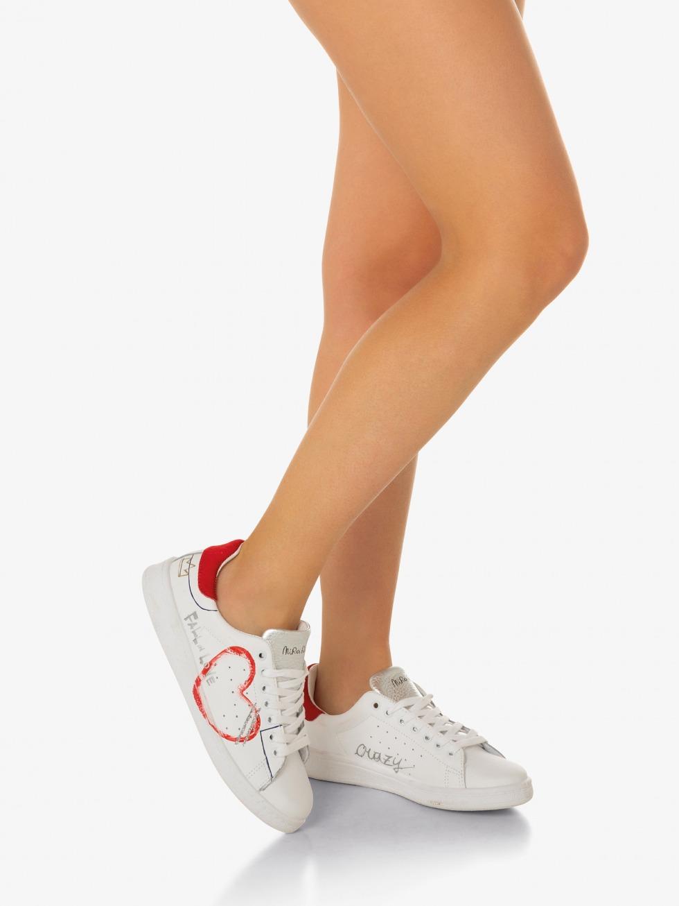 Daiquiri Sneakers - Red Heart Writer