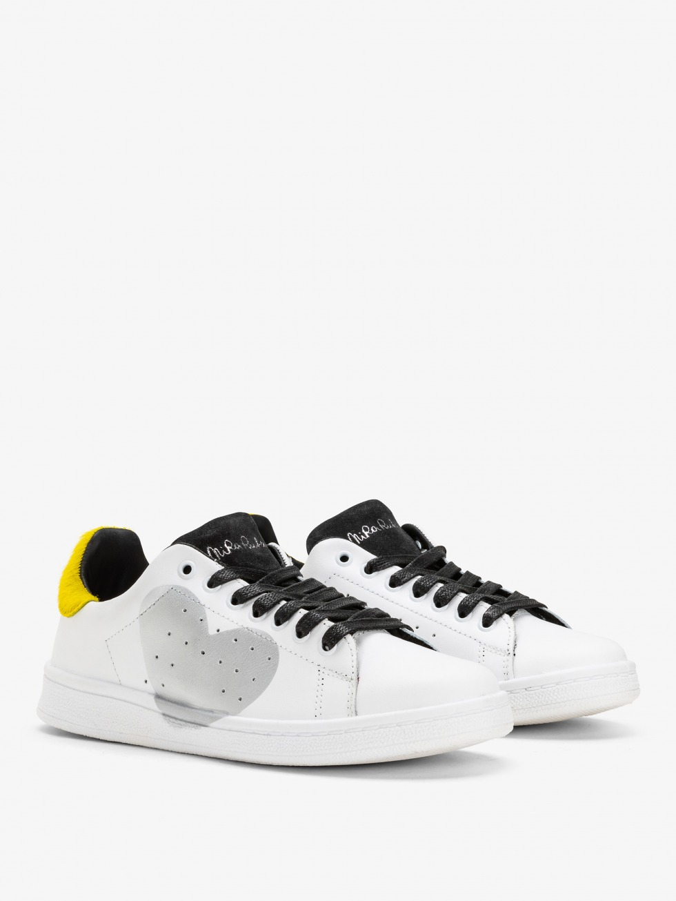 Daiquiri Sneakers - Heart Yellow