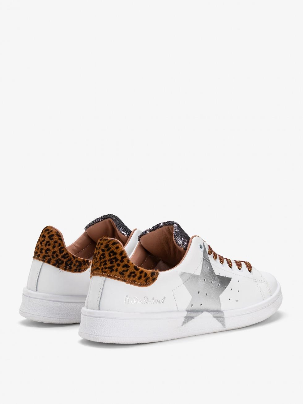 Daiquiri Silver Sparkle Jaguarino Sneakers - Stella
