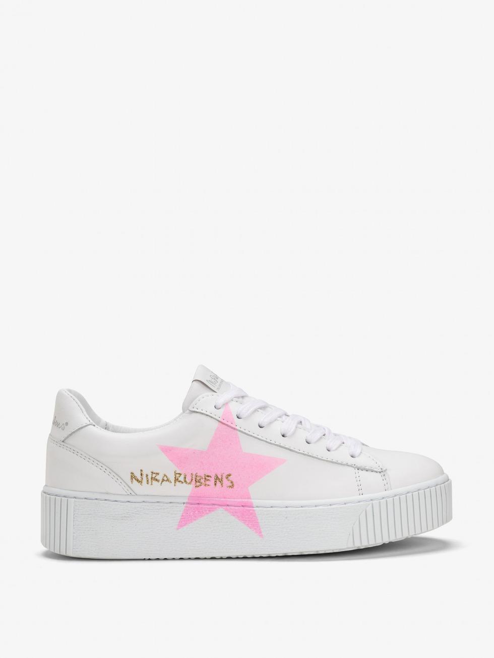 Cosmopolitan  Sneakers - Star Pink Fluo