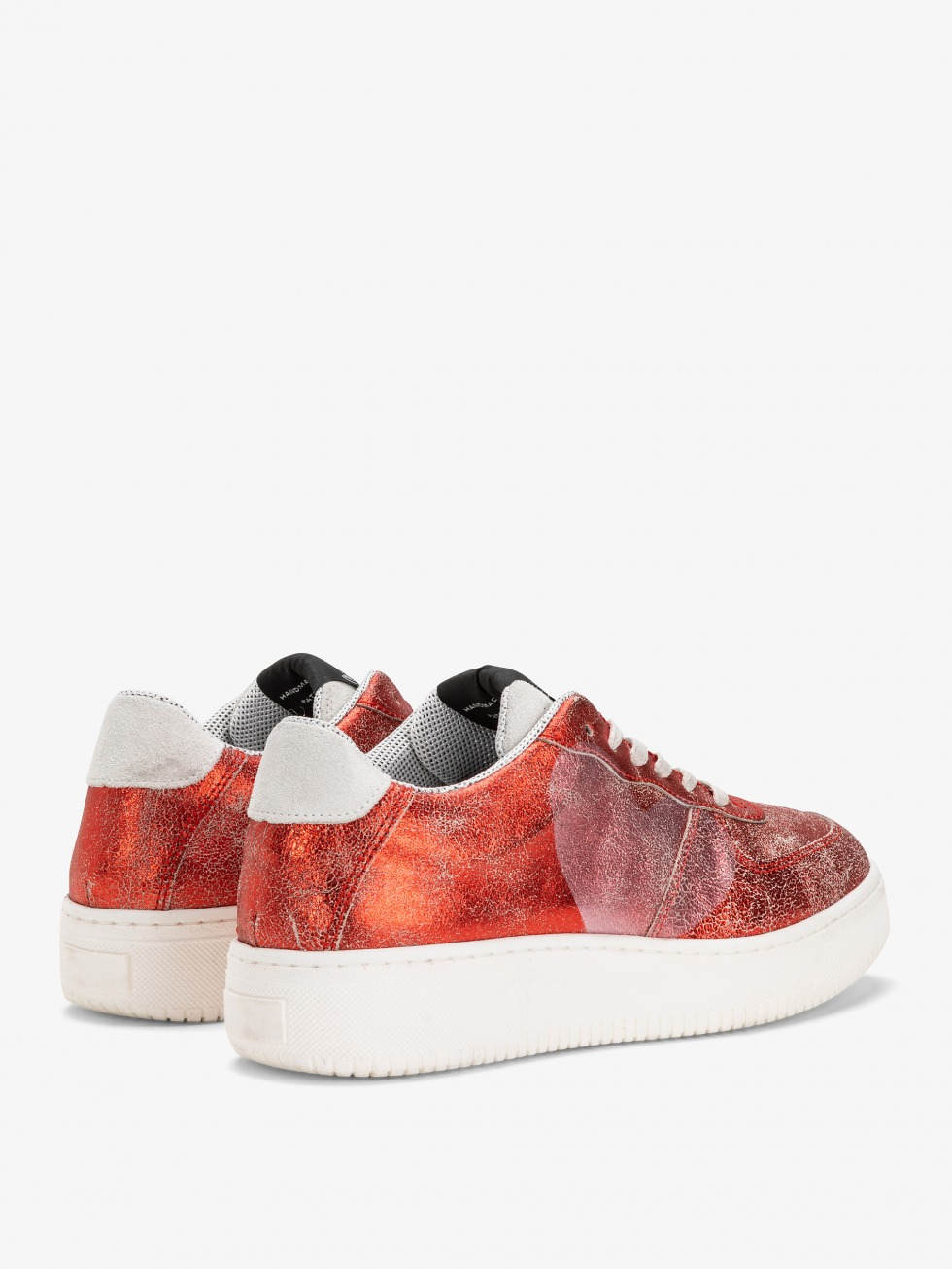 Sneakers Manhattan - Heart Vintage Red