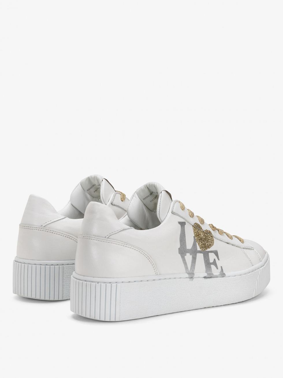 Cosmopolitan Sneakers - Silver Heart