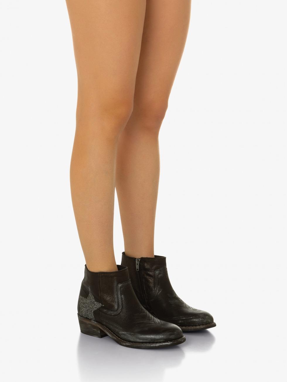 Mojito Boots Sparkle Raven - Star