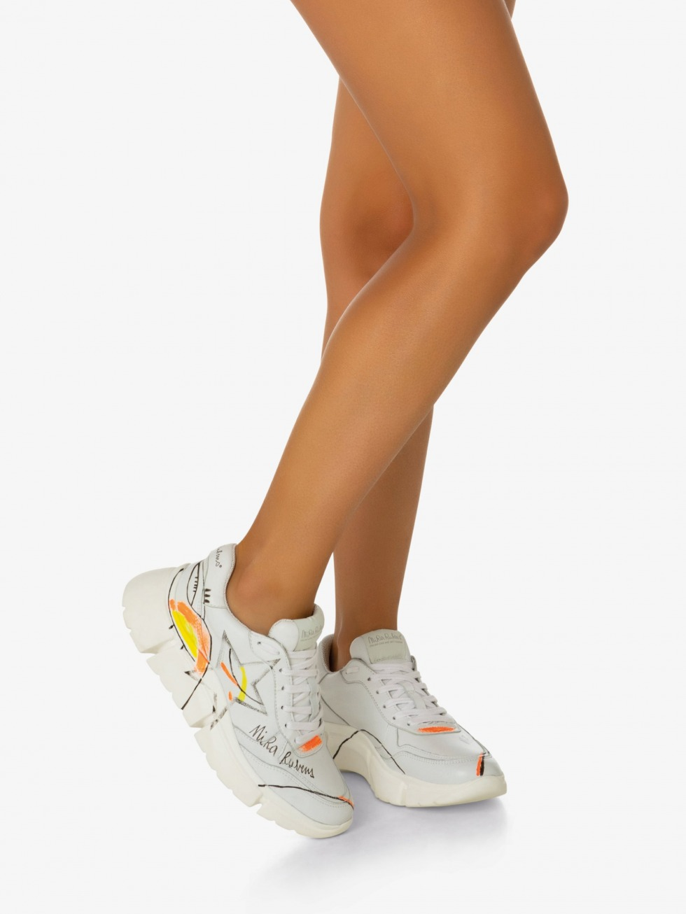 Stinger Chunky Sneakers - Art Star