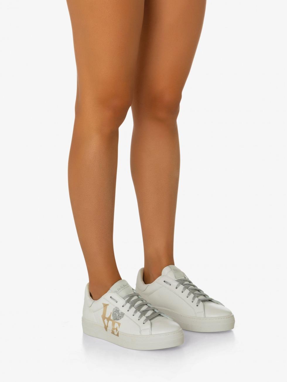 Martini White Sneakers - Platinum Love